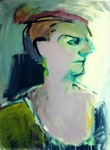 Porträtt i grönt